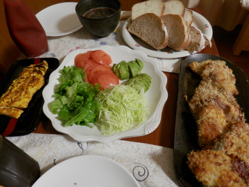 2014年1月30日夕食